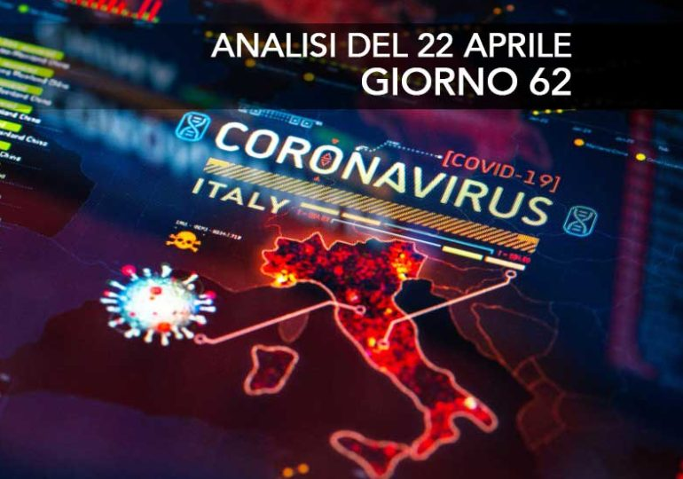 Coronavirus, Update April 22nd, Day 62